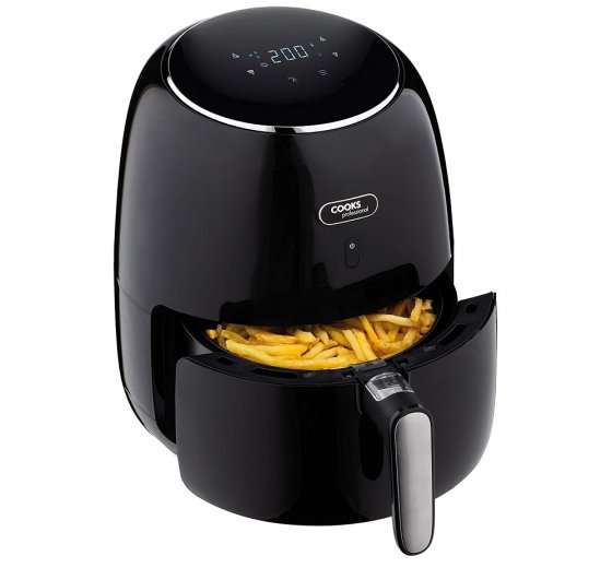 Friteuza Air Fryer Digital Cooks Professional G4271, Capacitate 3.2 Litri, Putere 1500 W, Afisaj Digital, Meniu Touch Screen