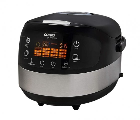 Multicooker Digital 16 in 1 Cooks Professional G4392, Capacitate 5 Litri, Putere 1000 W, Ecran LCD Touch, Control Digital